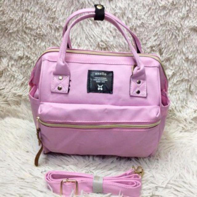 Anello Sling Bag Pink