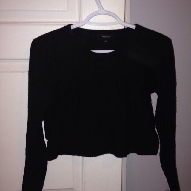 Aritzia- Babaton Nathaniel Crop Sweater