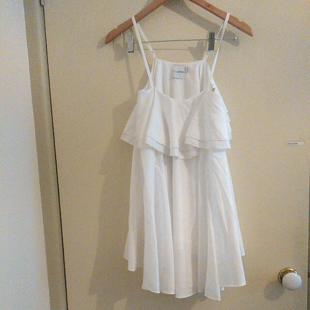 ASOS Petite White Dress