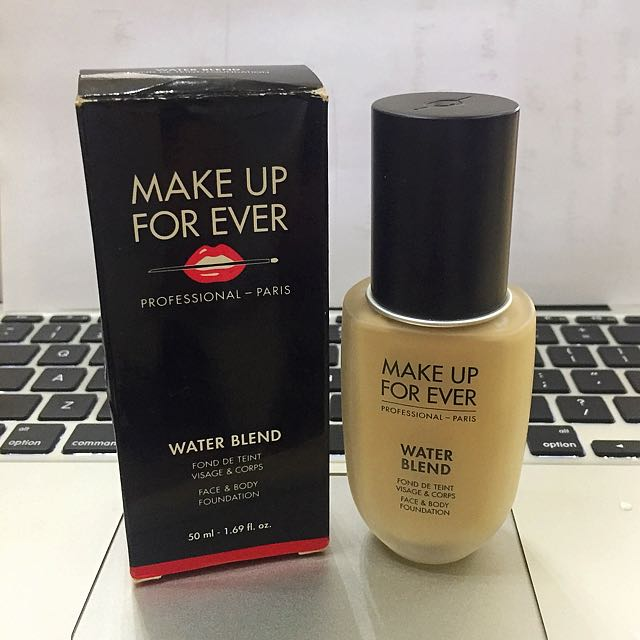Authentic MAKE UP FOREVER Water Blend Foundation