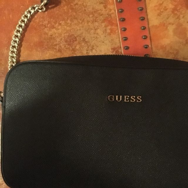 Black Guess Crossbody