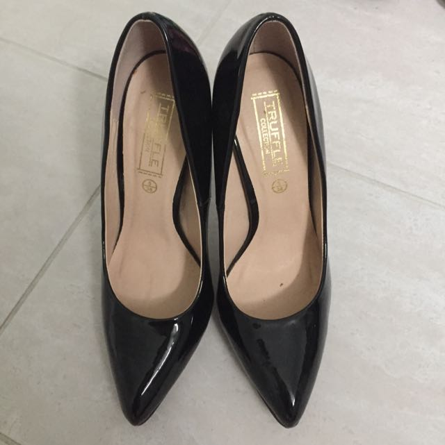 Black patent heels (Truffle)