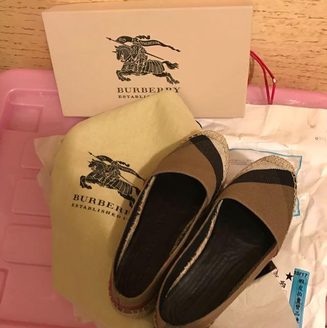 BURBERRY 鞋