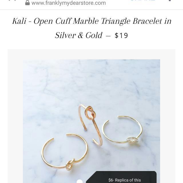 Cali bracelet replica (gold&silver)
