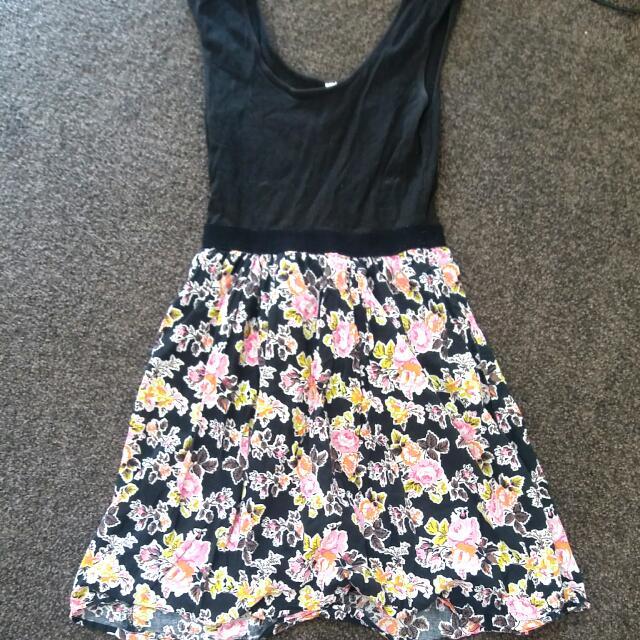 Causal Flower Dress