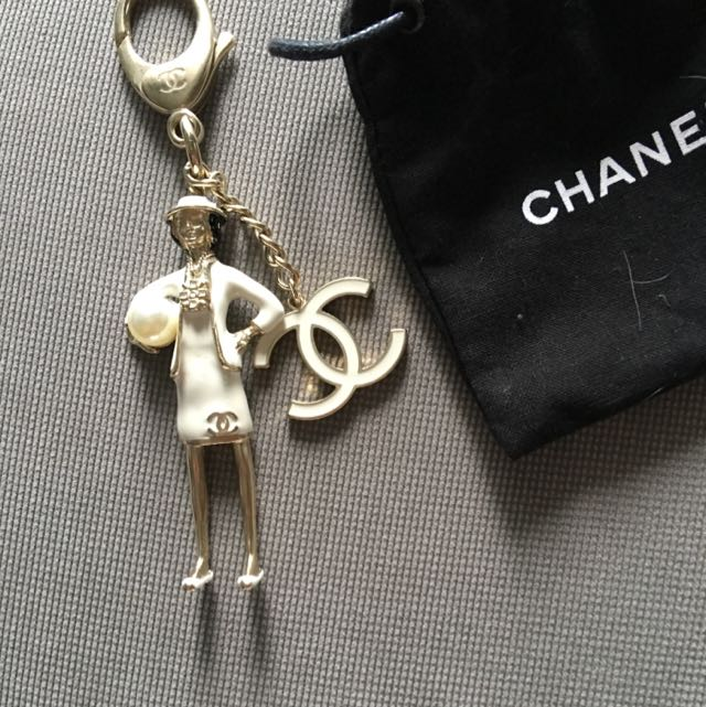 CHANEL Authentic Key chain Or Bag Charm