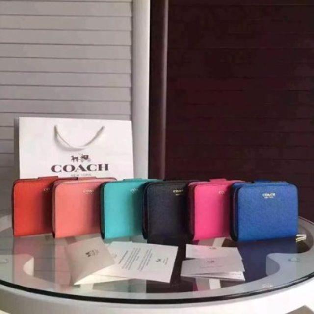 COACH 49352 女士短皮夾