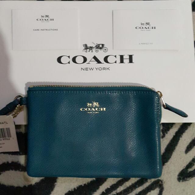 "Coach Wristlet Wallet ""repriced"""
