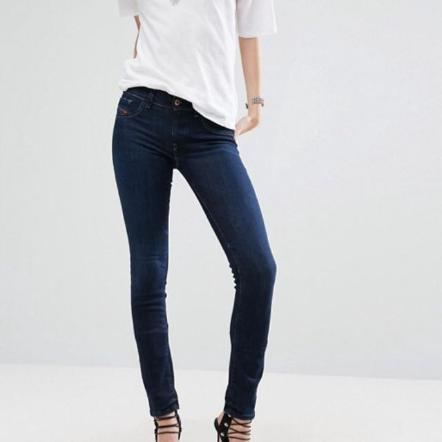 Diesel Livier Skinny Jegging Jeans