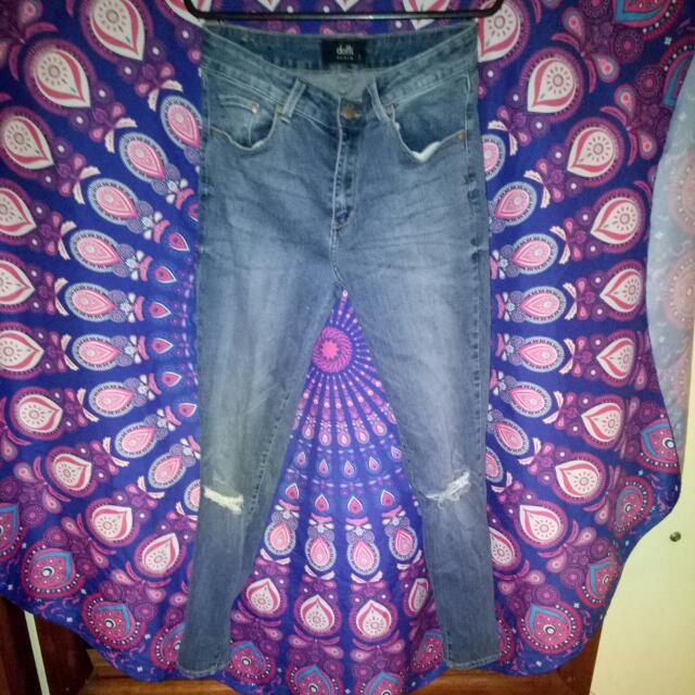 Dotti Ripped Jeans size 12