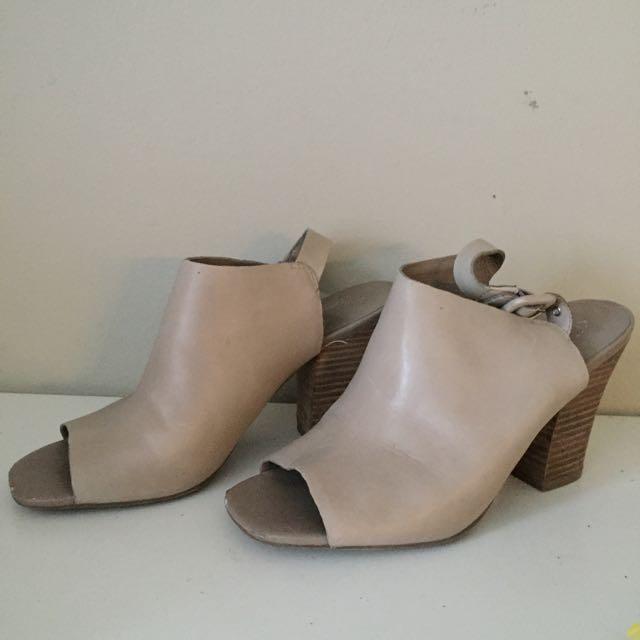 Franco Sarto Leather Heels