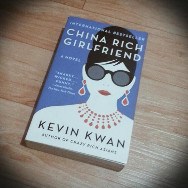 Free SF Brand New Book China Rich Girlfriend