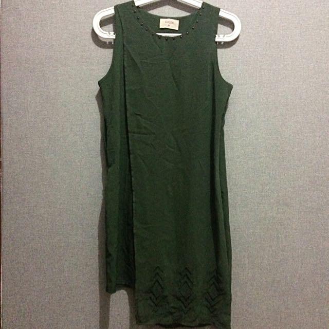 Gaudi Green Dress