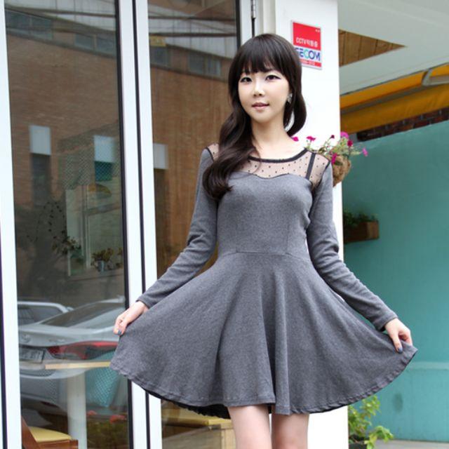 GT - 3747 Sweetheart Mesh Dress