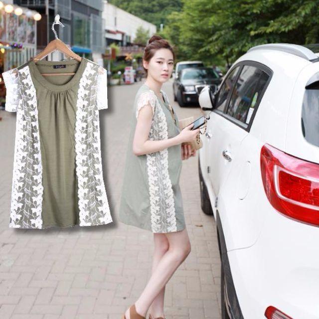 GT - 5239 Sided Lace Dress