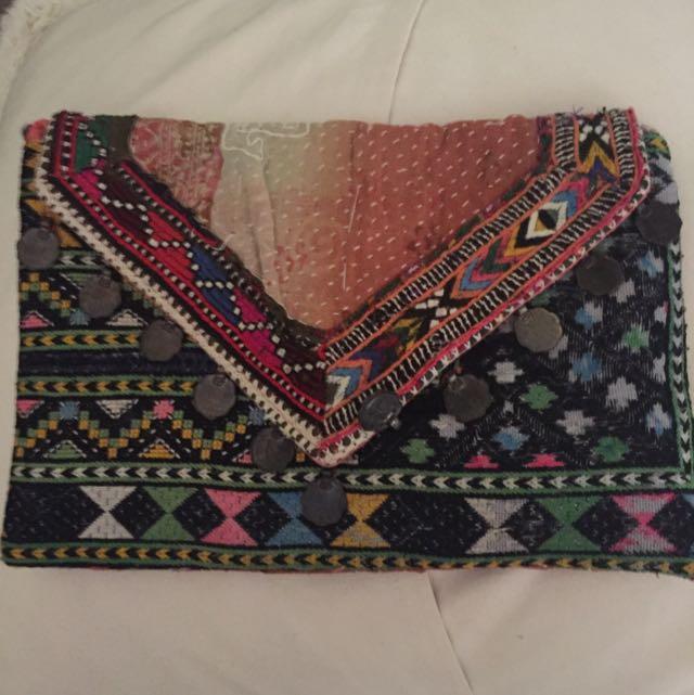 Gypsy River Crossbody Bag/ Clutch