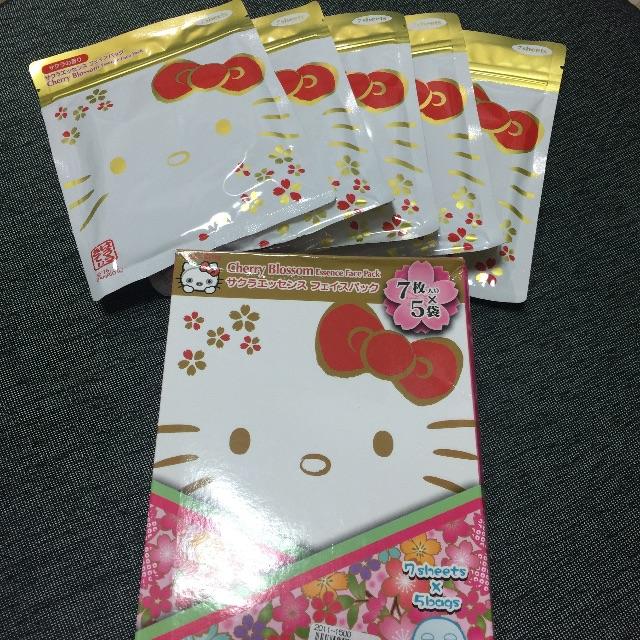 《秋葵本舖》Hello Kitty造型面膜/日本製