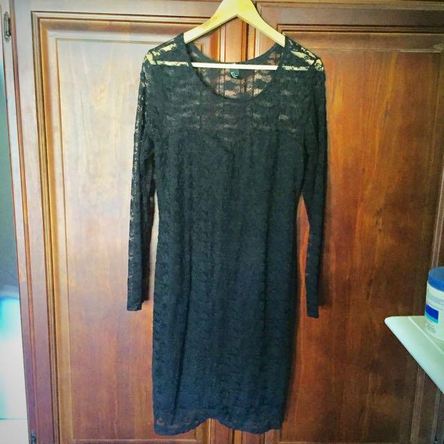 H&M Lace Dress Size L