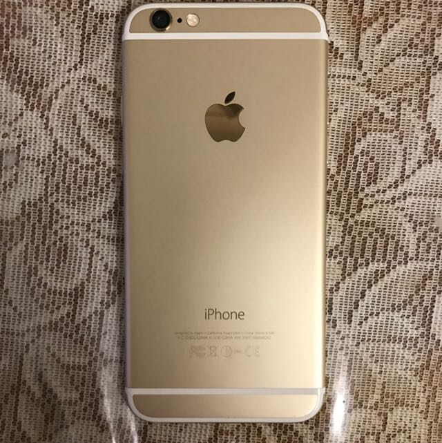 I Phone 6 Gold (cracked Screen) 16g