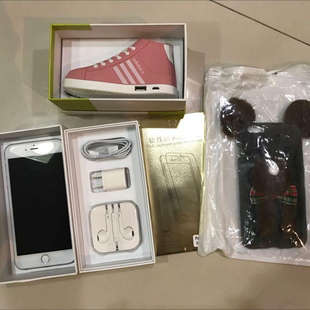二手iphone6plus銀色64g便宜賣