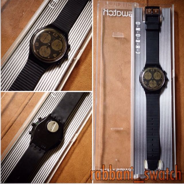 Jam Tangan Swatch Moon Shadow-SCB110 Original 100%