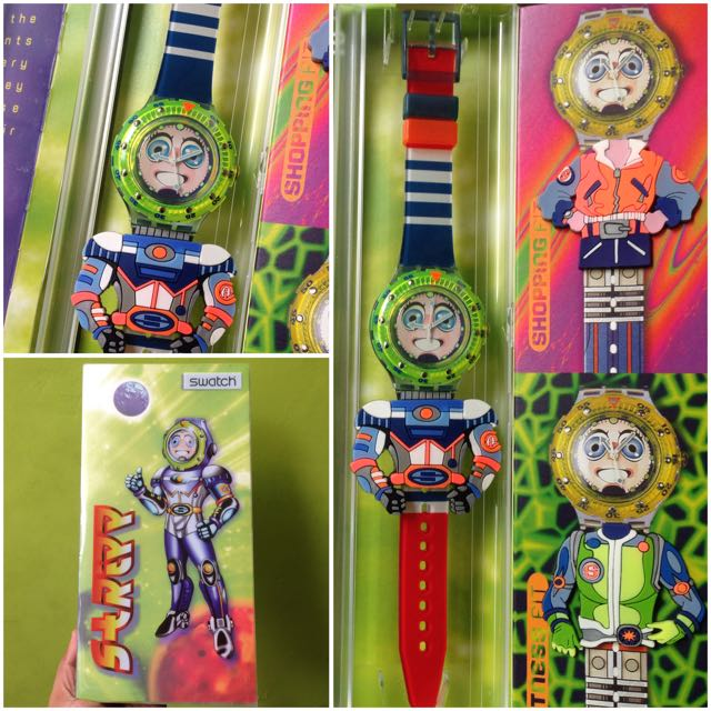 Jam Tangan Swatch Stripp-SDN120PACK Original (Limited Edition)