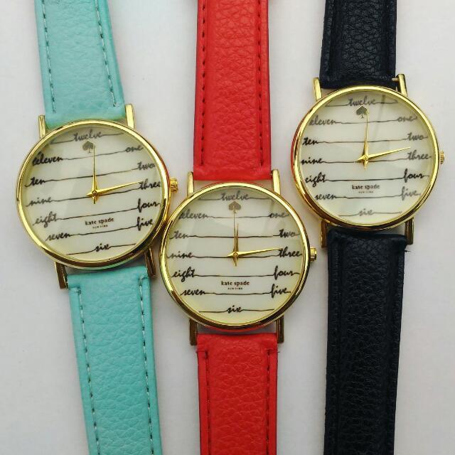 Kate Spade Word=number Watch