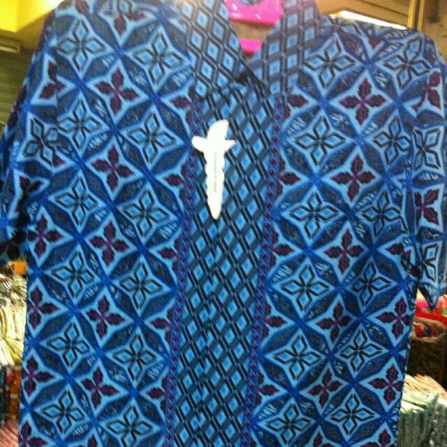 Kemeja Baju Batik Bahan Doby Ika Fashion Tanah Abang Murah 1a21427779