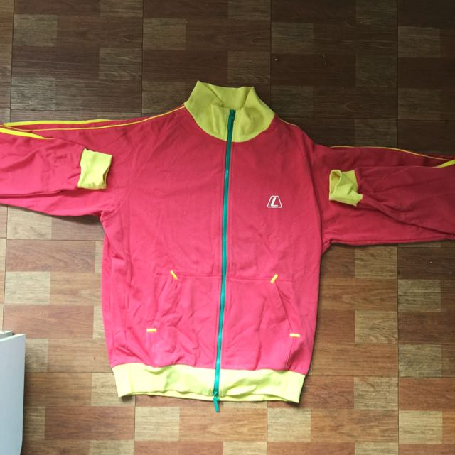 League Red Yellow Jacket