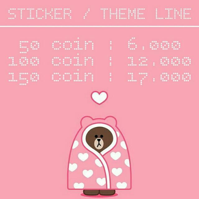 LINE STIKER / THEME (MURAH + TRUSTED)