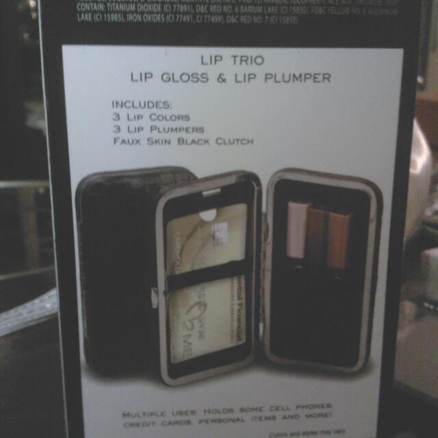 Lip Trio Lip Gloss and Lip Plumper