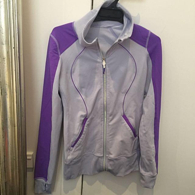 Lululemon Purple Zip Up Jacket