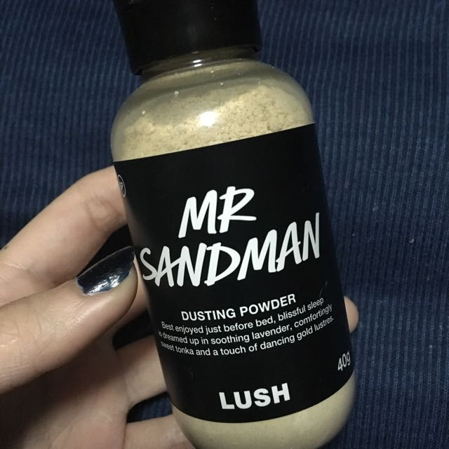 "Lush dusting powder ""Mr sandman"""
