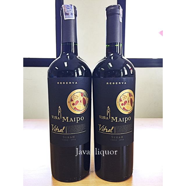 Maipo Vitral Syrah / Shiraz Red Wine Chile ORIGINAL 100%