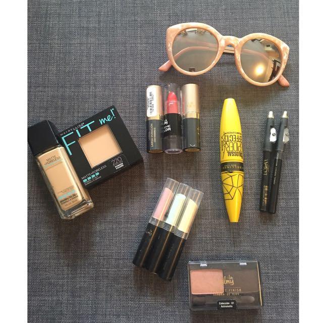 Make Up Combo + Sunglasses