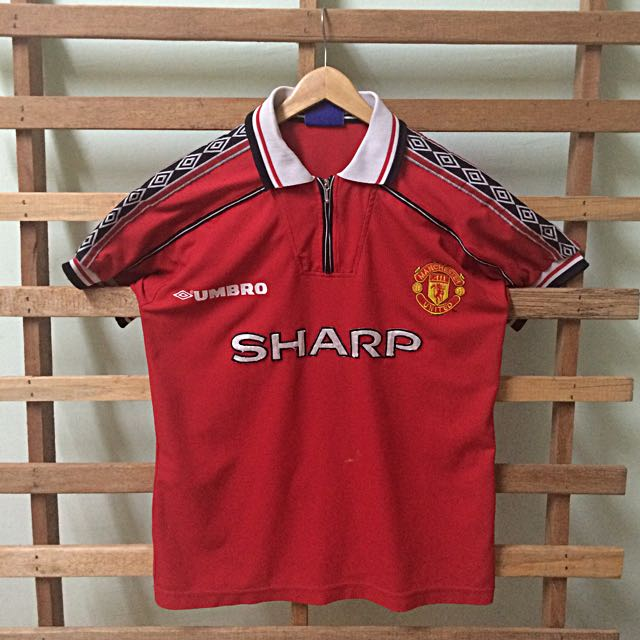low priced 9d1b3 faede manchester united MU sharp jersey