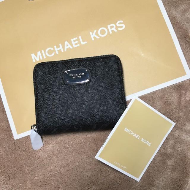Michael kors拉鏈短夾 美國🇺🇸購入