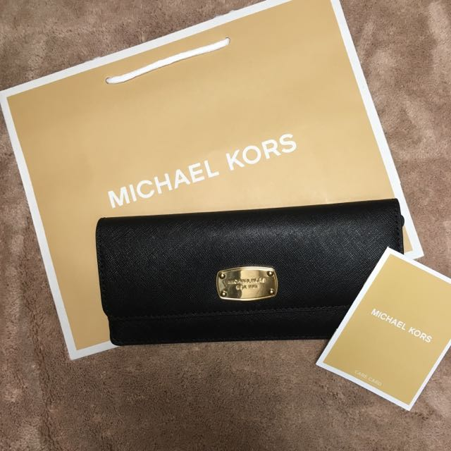 Michael kors 金牌薄款長夾 美國🇺🇸購入