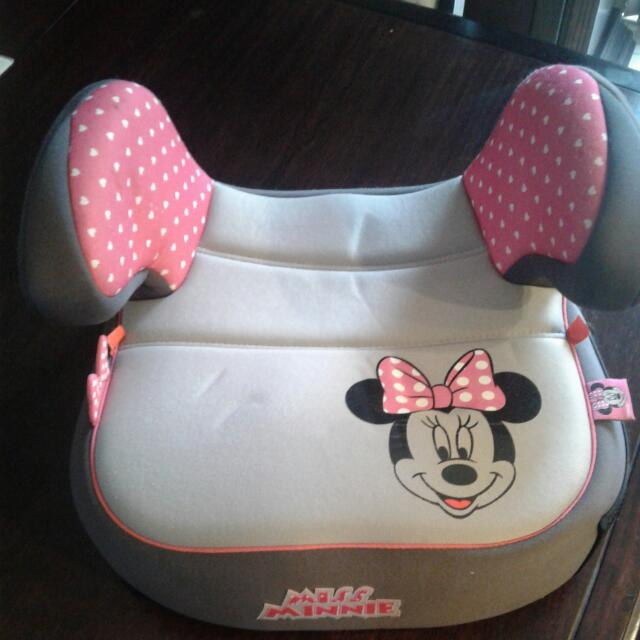 Minnie Car Booster Seat