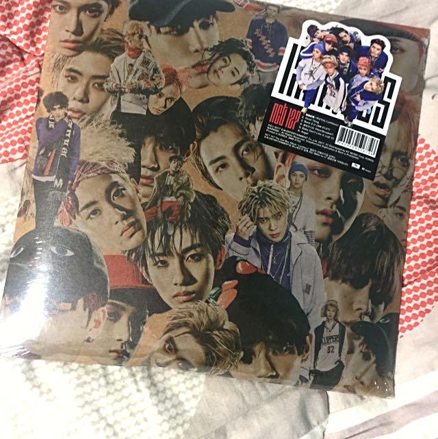 """[pending] NETT$$!! NCT127 2nd Mini Album """"Limitless"""" VER A"""