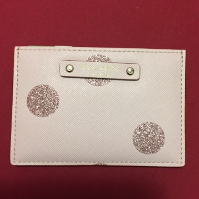 New Pink Kate Spade Card Holder