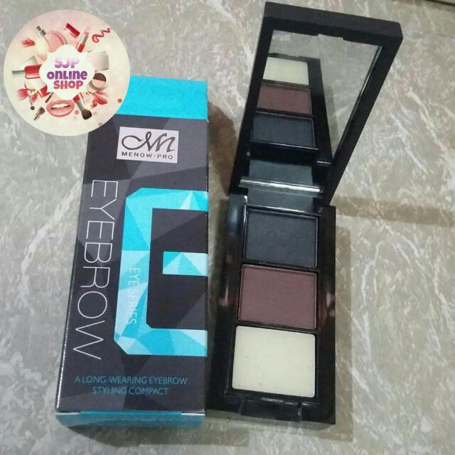 (ON HAND) MENOW EYEBROW PALETTE