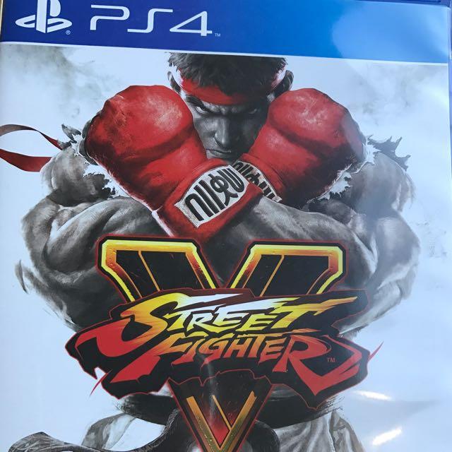 PlayStation 4 PS4 Street Fighter V