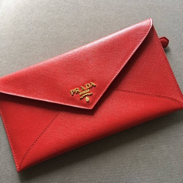 Prada Envelope Wallet Authentic