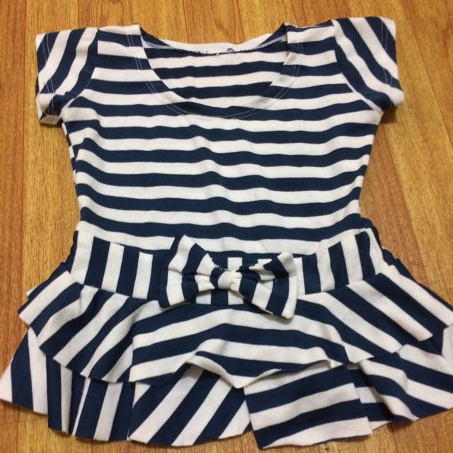 Preloved Blouse and Skirt Pair
