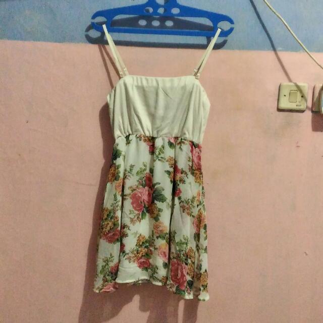 PRELOVED Flower Dress Fashion