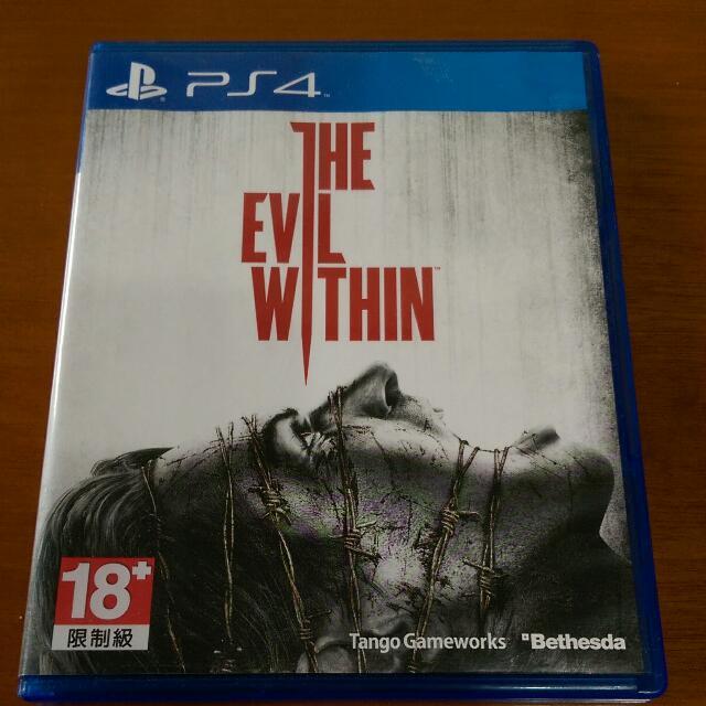 (旋轉最便宜)ps4 the evil within 邪靈入侵 中文