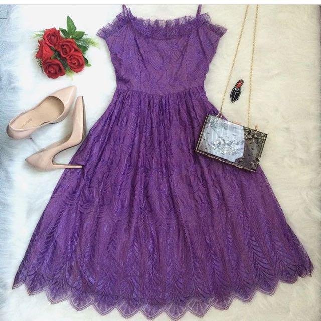 Purple Princess Dress📍Sidezip📍