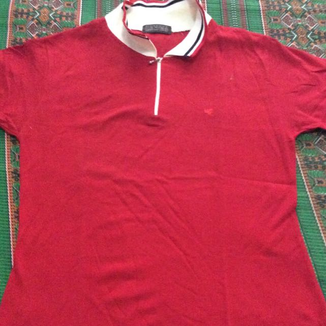 RED POLO SHIRT (GIORDANO)