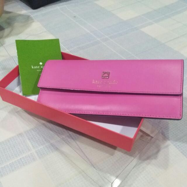 REPRICED: BRAND NEW AUTHENTIC KATE SPADE PINK AMELIA WALLET